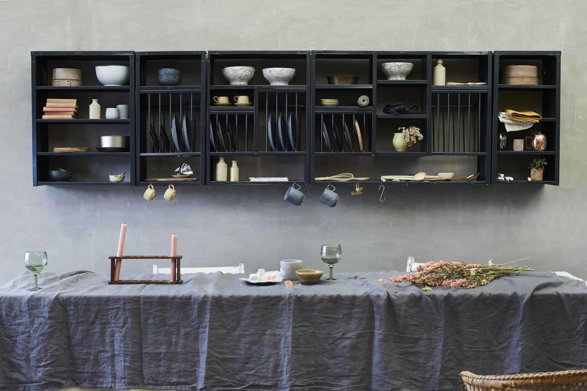 Anthracite Racks and Shelves